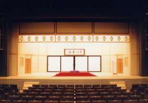 entertainment hall / stage